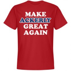 Make Ackerly Great Again
