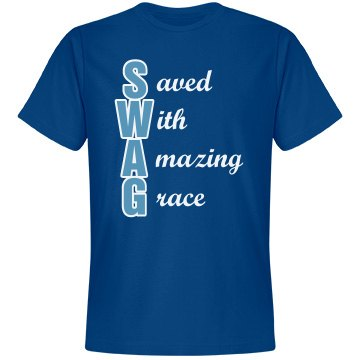 Saved With Amazing Grace