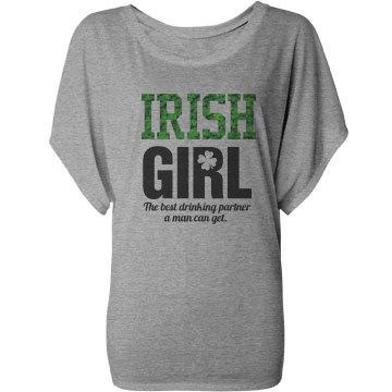St Patricks Day Irish Girl