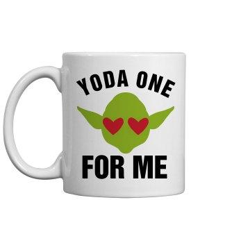 Yoda One For Me Sci Fi Nerd Gift