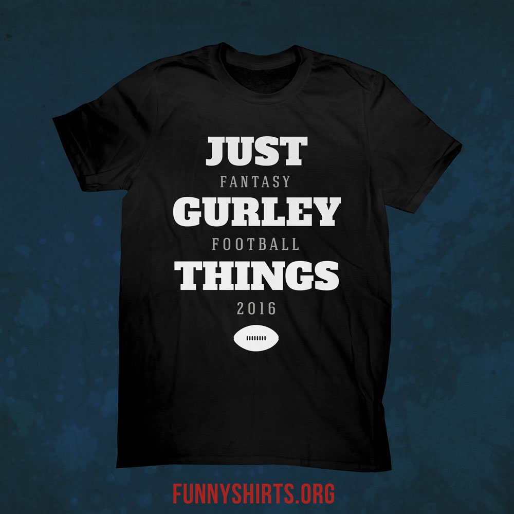 Fantasy Football Team Name Shirts
