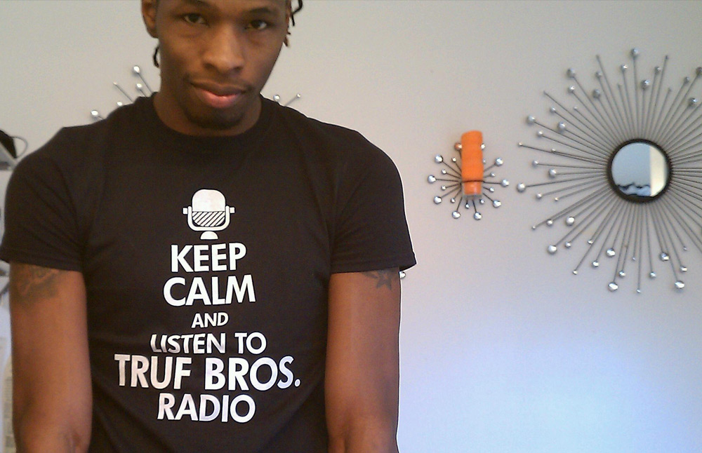 Custom Keep Calm Shirts Radio