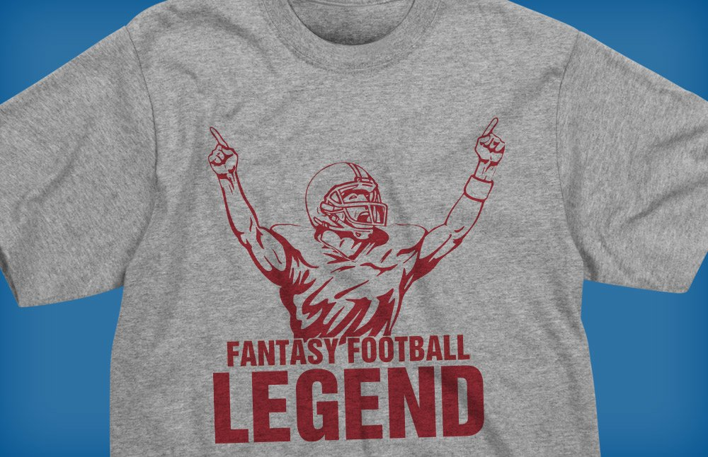 1ae6b111c Fantasy Football Legend Tee Shirts