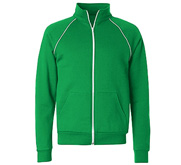 Unisex American Apparel Fleece Track Jacket