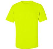 Unisex Gildan Cotton Safety Neon T-Shirt