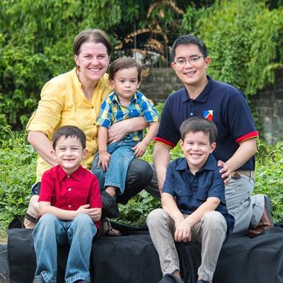 Luciano, Allan and Sandra image