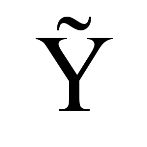 Ỹ | Times New Roman, Regular