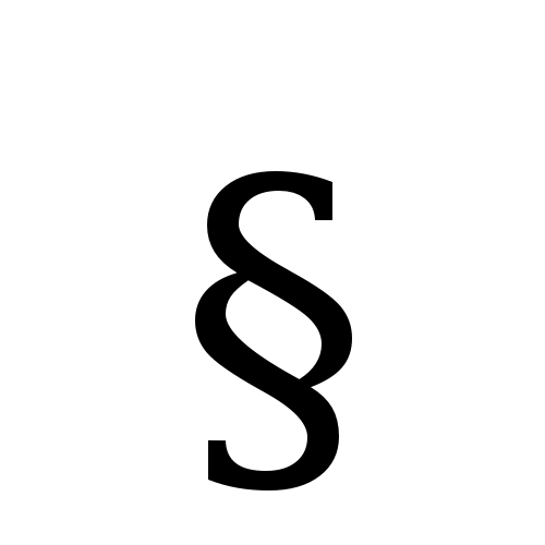 S Symbol Images section sign | ...
