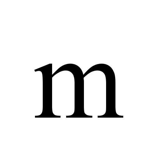 Times New Roman, Regular - m