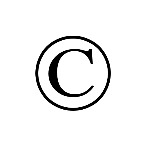 Image result for copyright sign