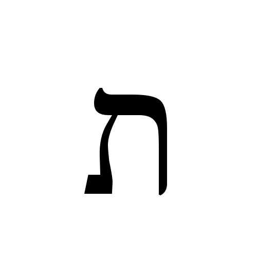 ת | hebrew letter tav | Times New Roman, Regular @ Graphemica