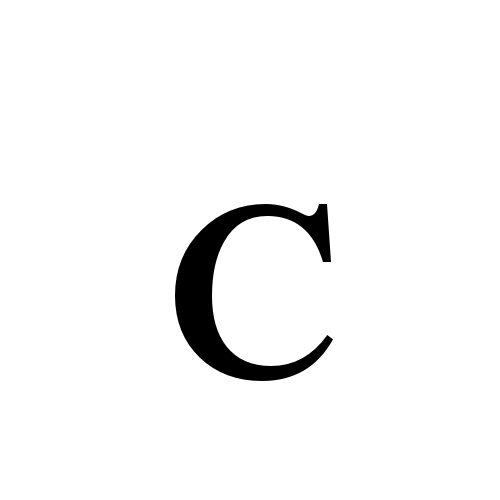 ᴄ Latin Letter Small Capital C Times New Roman Regular