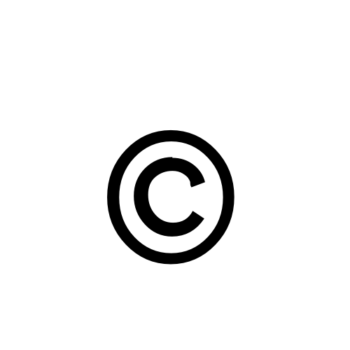 copyright sign | Lobster1.1, Regular @ Graphemica