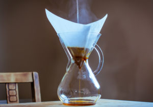 Water being poured into CHEMEX®
