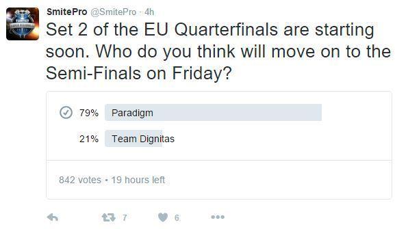 Set 2 of the EU Quarterfinals