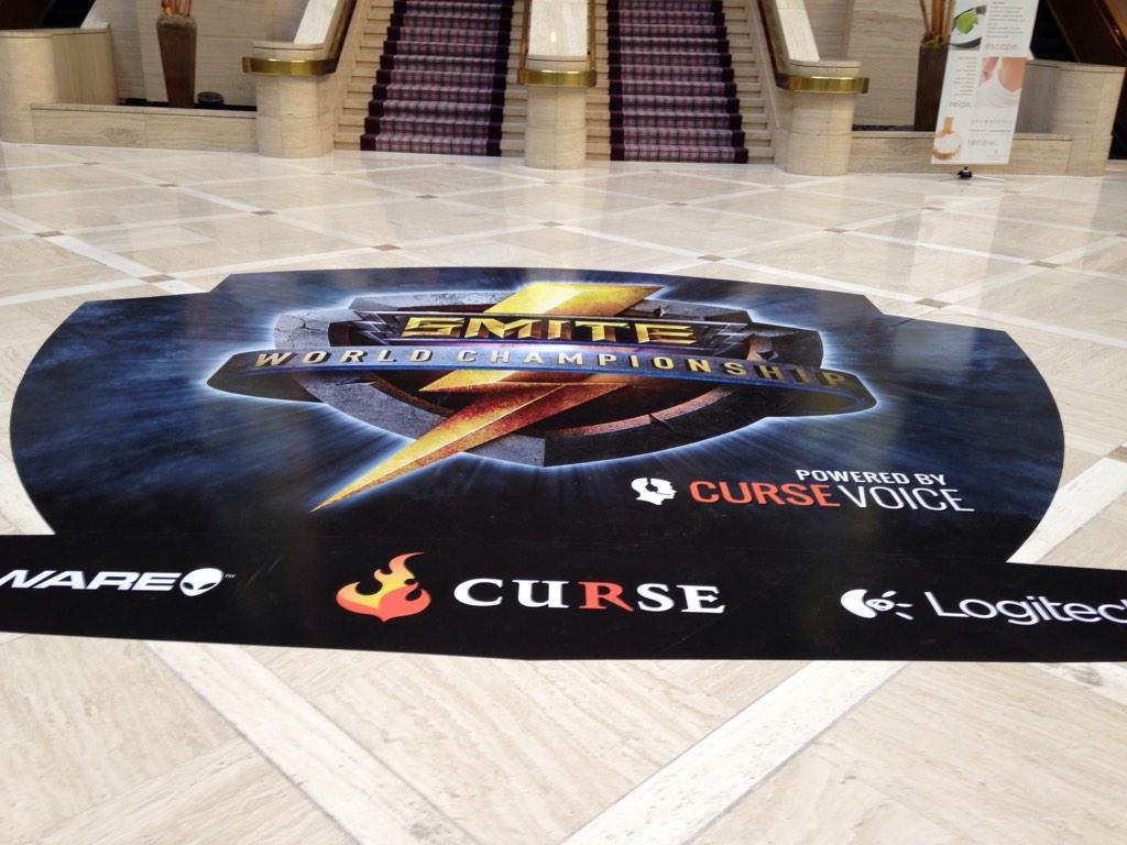 SMITE hotel floor pic