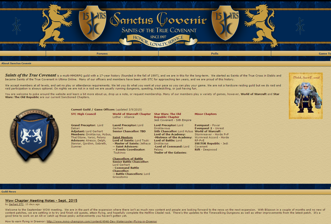 Sanctus Covenir