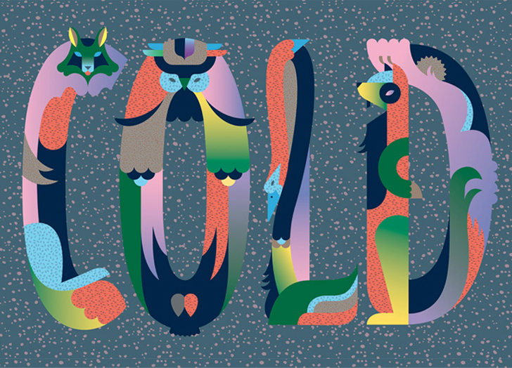Janine - Amazing illustrator with a style you don't see every day