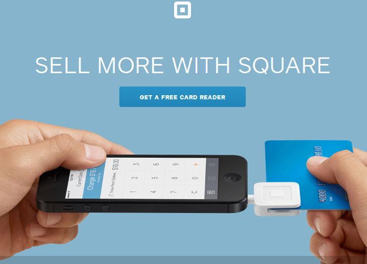 Square - website redesign
