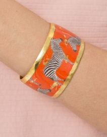 Zebra Dreams Cuff