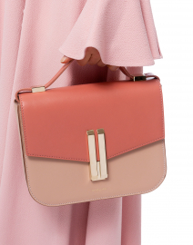 Vancouver Blush and Pink Leather Cross-Body Bag