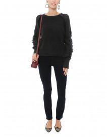 Ayla Smoke Grey Cashmere Sweater