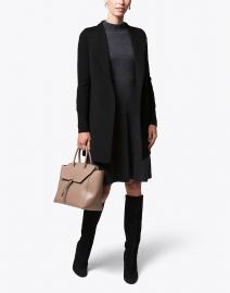 Black Wool Cashmere Coat