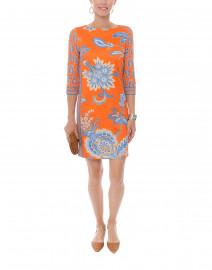 Elemental Orange Queenie Paisley Printed Dress