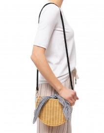 Dylan Honey Half Moon Crossbody Bag