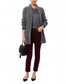 Grey Tweed Wool Jacket