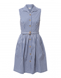 2293efff31a ... look Shoshanna Candide Navy and White Gingham Shirt Dress  398 ...