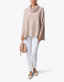 Ros White Cotton Stretch Pant
