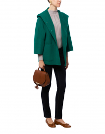 Falco Emerald Green Wool Jacket