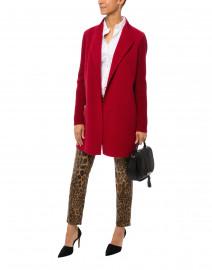 Tess Leopard Print Super Stretch Denim Jean