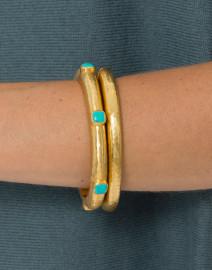 Catalina Turquoise Gold Bracelet