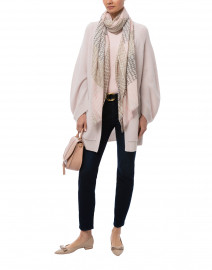 Pia Light Beige Wool Cashmere Cardigan