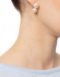 Gretel Double Pearl Earrings