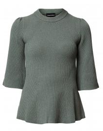 6f884958b0b4eb ... look Emporio Armani Sage Green Ribbed Sweater $395 ...