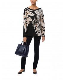 Black Tiger Intarsia Sweater