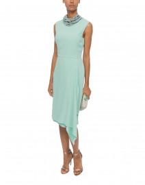 Mint Green Crepe Dress