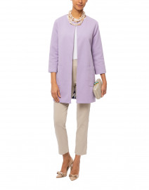 Lilac Cotton Coat