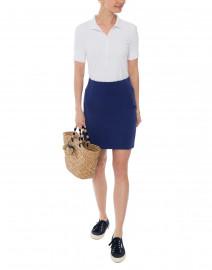 Tatum Navy Tea Skirt