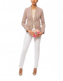 Multicolored Cotton Tweed Jacket