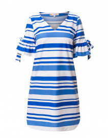 47d9f907fc6 ... look Jude Connally Cory Blue Striped Stretch Dress  208 ...