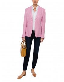 Omero Pink Linen Jacket