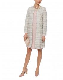 Multicolored Lurex Tweed Coat