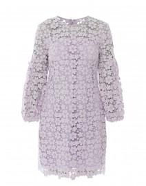 Vina Lilac Lace Dress Shoshanna Halsbrook