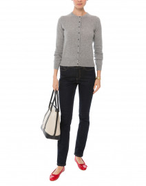 Silver Grey Cashmere Sweater