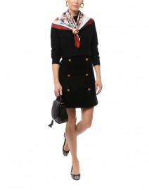 Black Tweed Skirt