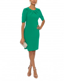 Taylor Green Fitted Dress